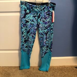 Lilly Pulitzer NWT Luxletics Leggings🔅L